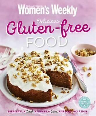 NEW Delicious Gluten-free Food By The Australian Women's Weekly Paperback
