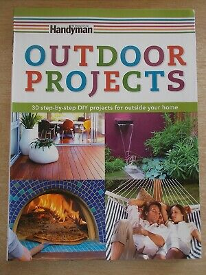 Handyman~R/D~Outdoor Projects~30 Step-By-Step Projects~Woodwork~Paving~Concrete