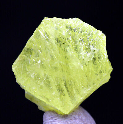 Sulfur VOLCANO Crystal Cluster Yellow BRIMSTONE Mineral Specimen MAYBEE MICHIGAN
