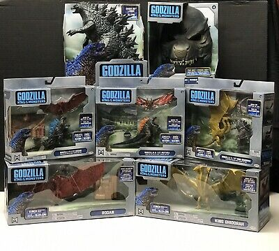 Jakks Godzilla King Of The Monsters Complete Toy Set 2019