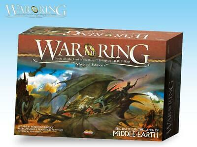 Ares LotR Boardgame War of the Ring (2nd Edition, 2nd Printing) Box NM