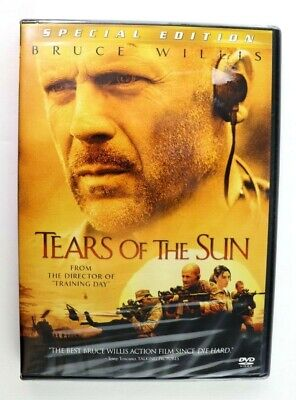Tears of the Sun (DVD, 2003 Special Edition) Bruce Willis New Sealed