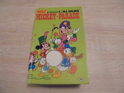 Le journal de Mickey présente l'album Mickey Parade n° 11 de 1980