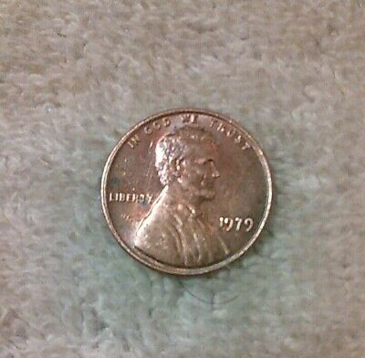1979  lincoln penny no mint mark
