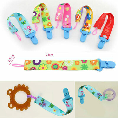 Happy Monkey Baby Pacifier Clip Chain Toys  Hanging Nipple Holder Fastening Belt