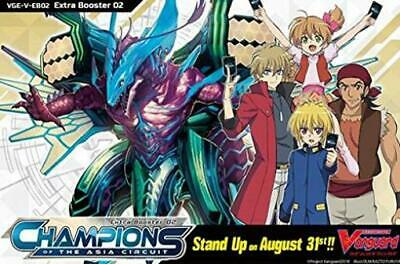 Bushiroad Cardfight! V Extra Booster #2 - Champions of the Aia Circuit B CCG SW