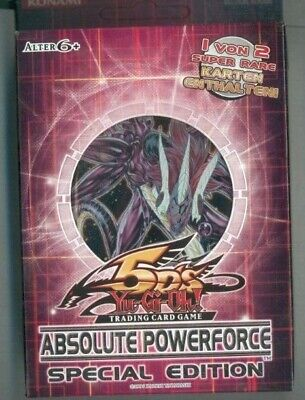 Yu-Gi-Oh! Trading Card Game (ABSOLUTE POWERFORCE SPEZIAL EDITION- DEUTSCH  OVP