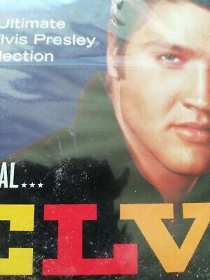 The Real Elvis Presley CD Greatest Hits 3 discs SEALED 90 TRACKS