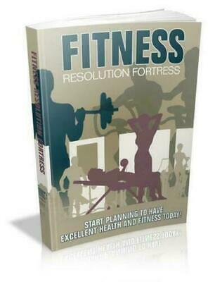 Fitness Resolution Fortress FULL MASTER RESELL RIGHTS & FREE SHIPPINNG