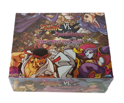 UFS Street Fighter Vs. Darkstalkers Booster Box NEW SEALED