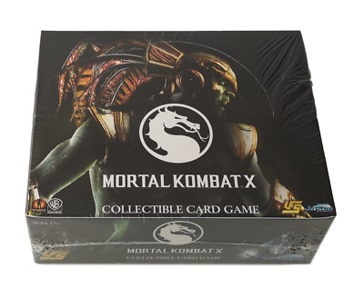 UFS Mortal Kombat X Card Game Booster Box NEW SEALED