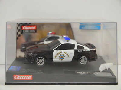 7 ) Carrera 27155 Evolution - Ford Mustang GT Highway Patrol - Polizei in OVP