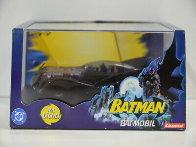 8 ) Carrera Evolution 27110 DC Batman Batmobil 1:32 Hush mit Licht - OVP
