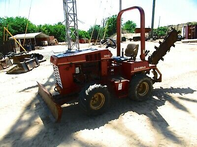 1996 Ditch Witch 3610 Ride On Trencher