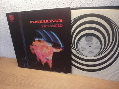 Black Sabbath Paranoid In 1971 Uk Lp Vertigo Swirl (Big Bear)