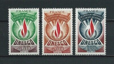 FRANCE SERVICE - 1975 YT 43 à 45 - TIMBRES NEUFS** MNH LUXE