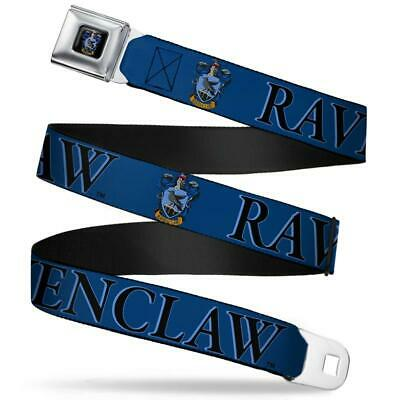 Harry Potter Ravenclaw Crest Blue/Black Seatbelt Belt