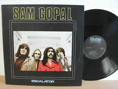 Sam Gopal ( With Lemmy ) Escalator LP in mint Psych Rock LP