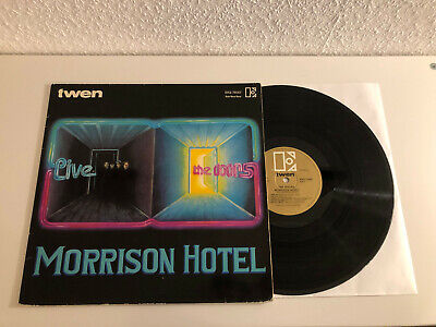 The Doors Morrison Hotel LP 1970 Golden Elektra Psych