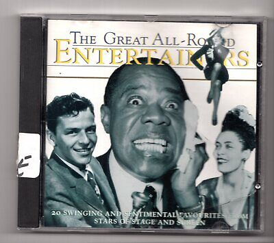 (IY41) The Great All-Round Entertainers, 20 tracks various artists - 1995 CD