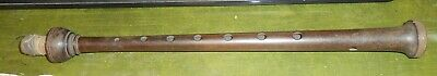 Old Rosewood Bagpipe Chanter Bagpipes