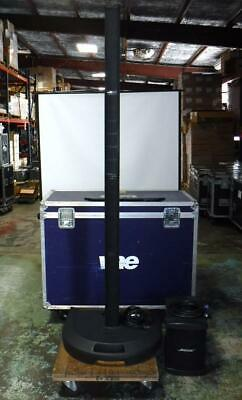Bose L1 Model I PowerStand, Cylindrical Speakers, B1 Bass W/ Remote & Road Case