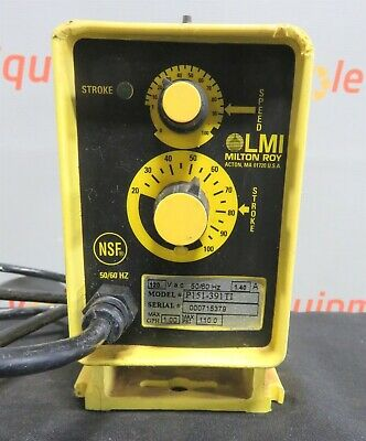 LMI Milton Roy P151-391TI Chemical Metering Pump