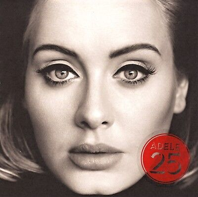 Adele CD Album (25) Deluxe Extended Edition (EXCLUSIVE) With Bonus Tracks!
