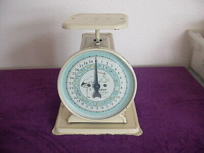 vintage scales Hanson Nursery scales graphics Stork w/ Baby  30 lbs  Chicago