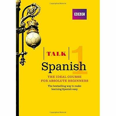 Talk Spanish 1 (Book/CD Pack): The Ideal Spanish Course - Paperback NEW Sanchez,