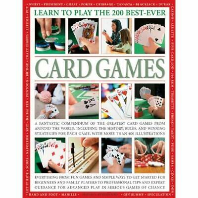 Learn to Play the 200 Best-ever Card Games (Learn to Pl - Paperback NEW Harwood,
