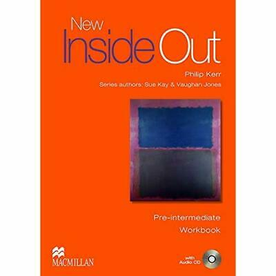 New Inside Out Pre Intermediate WorkBook Without Key :  - Paperback NEW Kay, Sue