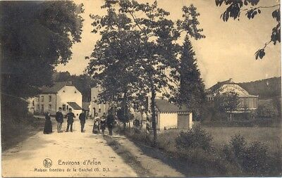 Carte postale authentique : Environs d'Arlon