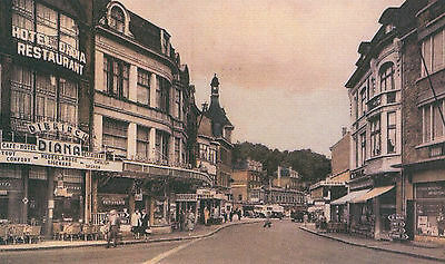 Reproduction photo d'une vue de Dinant : quartier Saint-Médard