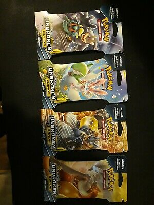 Pokemon Unbroken Bonds Sun & Moon lot of (36) Booster Packs Factory Sealed packs