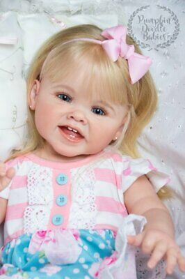 Custom Order Adele by Ping Lau Reborn Toddler Doll Baby Girl or Boy
