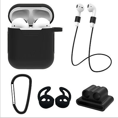 For Apple Airpods Charging Case Wrap Silicone Cap Protector Camouflage Cover