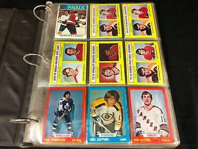 1973-74 Topps Hockey Nhl Complete Set 198/198 In Binder - No Reserve
