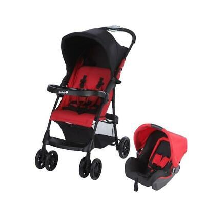 Poussette combinee duo Taly 2 in 1- Ribbon Red