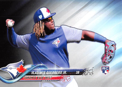 2018 Topps Vladimir Guerrero Jr. RC Rookie Card > Blue Jays > *Custom Card*