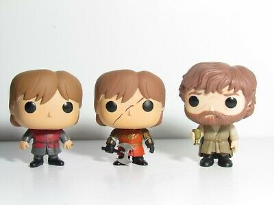 Tyrion Lannister #01 #21 Funko Pop Lot Game Of Thrones Battle Armor Axe