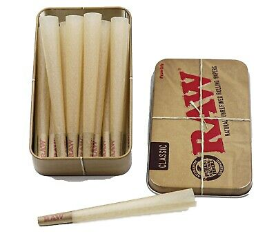 Raw 98 Special Size Cone 20 Count Bundle With Raw Tin