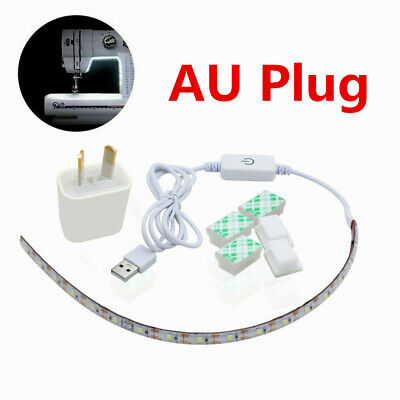 Pro Sewing Machine LED Strip Light Kit DC 5V Flexible USB/AU Plug Sewing Light