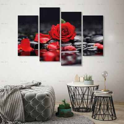 Flower Canvas Painting Wall Art Picture HD Print Poster Home Decor Decoration