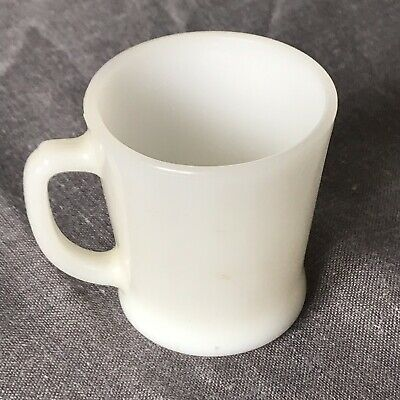 Anchor Hocking Fire King Milk White Coffee Mug Cup Vintage Stacking Tea Cup