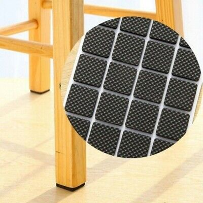 Soft Rubber Self Adhesive Furniture Leg Non Slip Rug Felt Pads Anti Mat Set