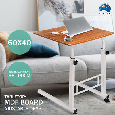 Portable Mobile Laptop Desk Computer Table Adjustable Stand Study Office Work AU