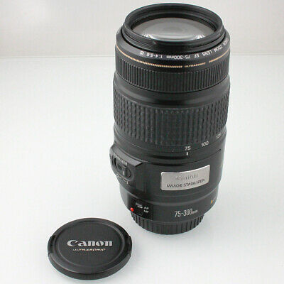 Canon 75-300mm/4.0-5.6 EF IS USM Zoom für Canon EF (FN018917)