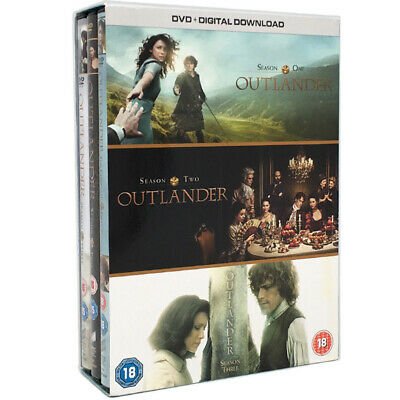 Outlander Season 1-3 The New Sealed DVD BOX SET Region 2 Complete Free Postage
