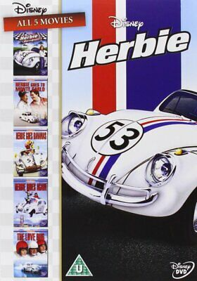 HERBIE DVD Collection 5 films (1969-2005) Goes Bananas Region 4 New & Sealed